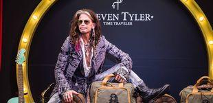 Post de Steven Tyler, el rockero que ahora tiene su propia marca de maletas