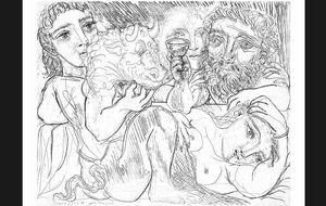El laberinto picassiano a través de los mitológicos minotauros