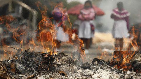 Indígenas otomíes protestan en Ciudad de México