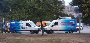 Post de Atacan diez vehículos de la Vuelta a España con pintadas en favor de los presos de ETA
