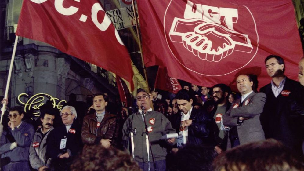 Foto: Foto: Archivo de Historia del Trabajo de la Fundación 1º de Mayo.