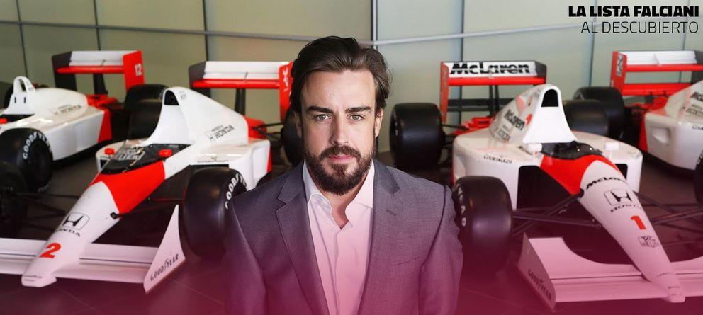 Foto: La ficha de Fernando Alonso en el HSBC: 'Contactar con el padre en Oviedo por DHL'