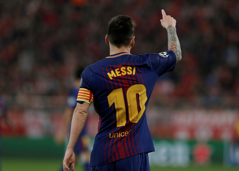 Foto: Leo Messi está completando un espectacular inicio de temporada. (Reuters)