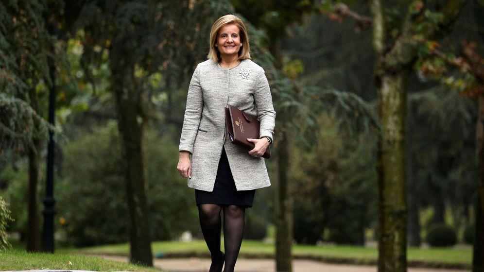 Foto: La ministra de Empleo, Fátima Báñez. (Reuters)
