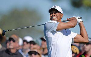 El 'desconocido' Tiger Woods, de túnel en túnel y tiro porque me toca