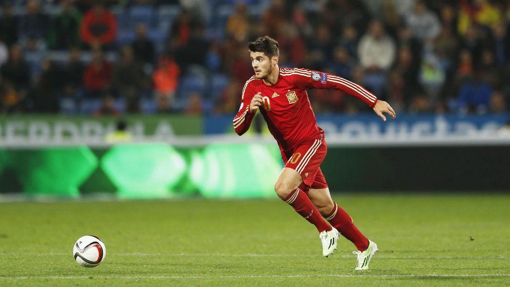 Foto: Morata debutó con la absoluta el pasado 15 de noviembre contra Bielorrusia (Imago)