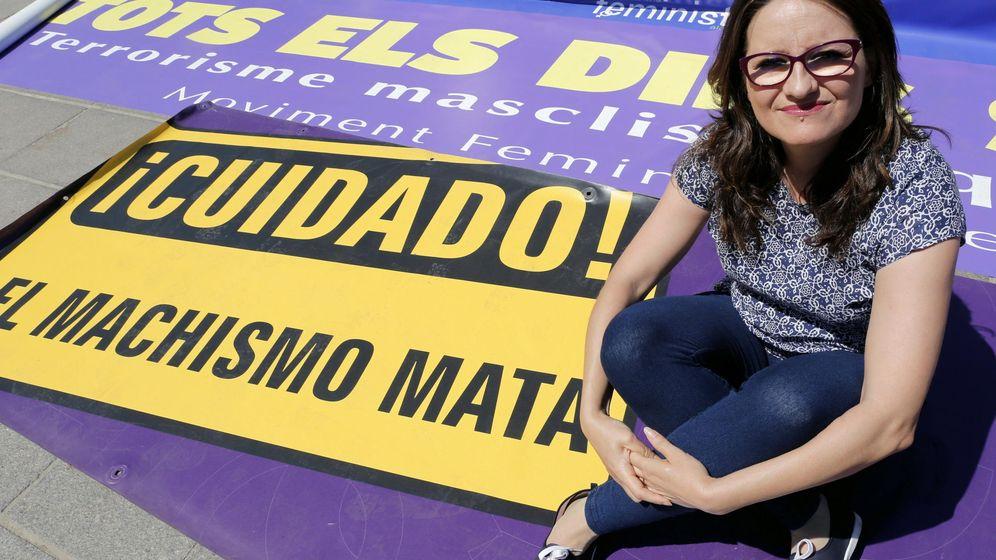 Foto: La candidata de Compromís a la Presidencia de la Generalitat, Mónica Oltra. (EFE)
