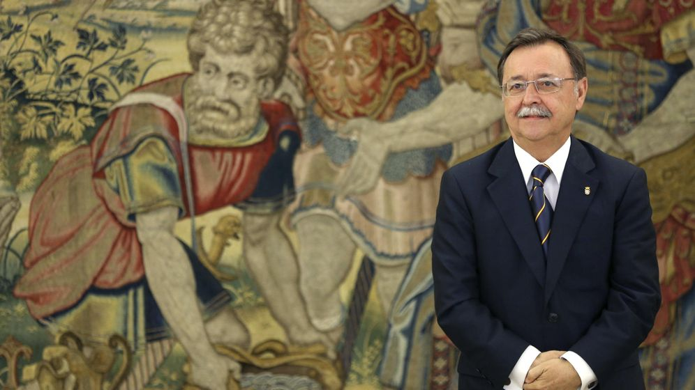 Foto: El presidente de la ciudad autónoma de Ceuta, Juan Jesús Vivas (EFE)