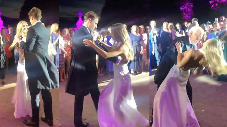 Nos colamos en la celebración de la boda de Bárcena: segundo vestido, caballos, menú...