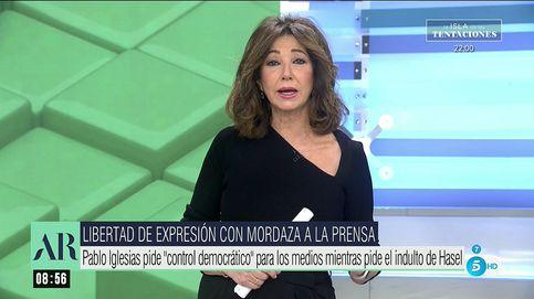 Ana Rosa, a Iglesias: A mí me eligen cada día; a usted lo ha elegido Pedro Sánchez