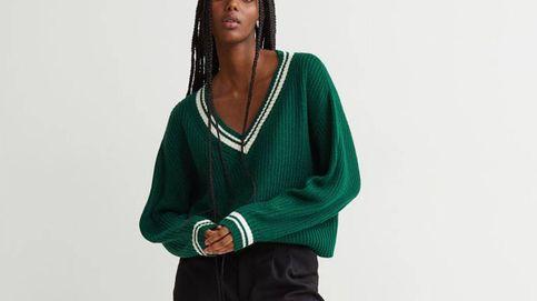 El jersey verde de H&M para sumarte a la tendencia viral del año