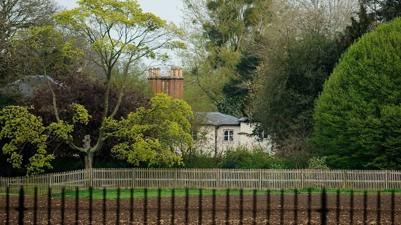 Vista de Frogmore Cottage, la que sigue siendo residencia de Meghan y Harry en Reino Unido. (Getty)