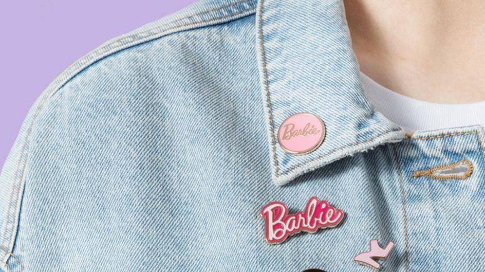 Foto: Pines de Barbie de la colección de Primark. (Cortesía)