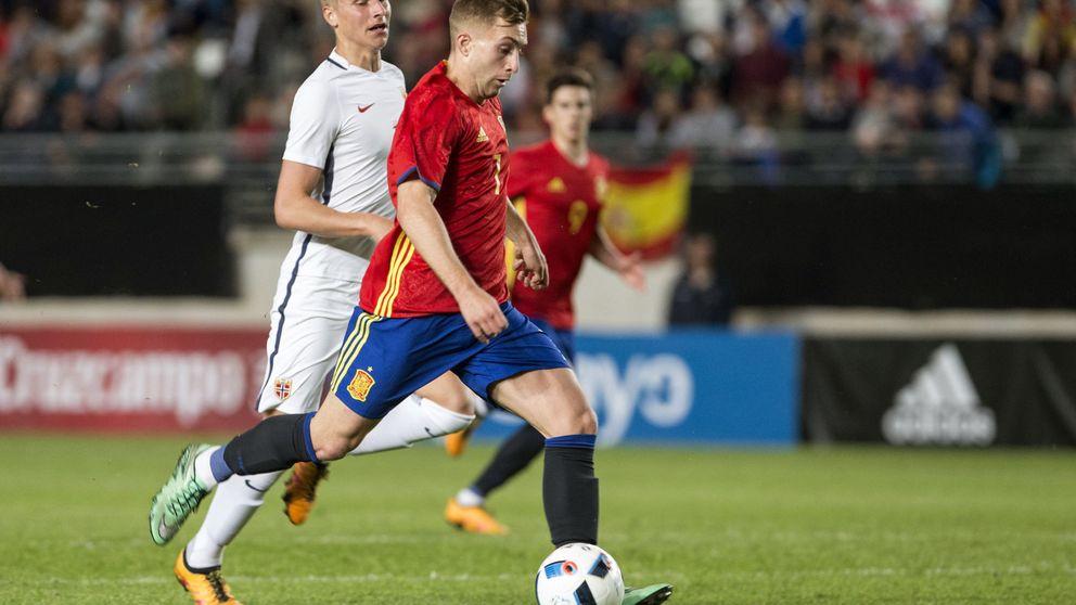 Sólo Gerard Deulofeu encuentra el camino al gol en la selección sub-21