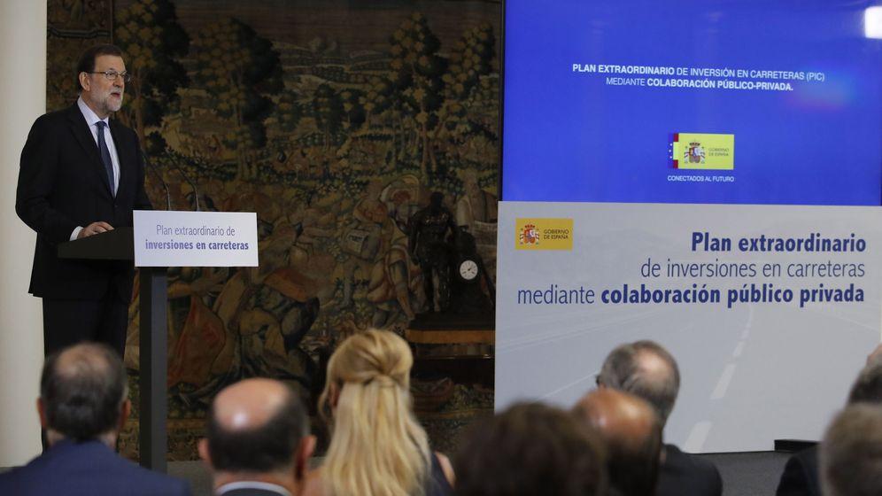 Foto: Rajoy y De la Serna presentan plan inversiones en carreteras