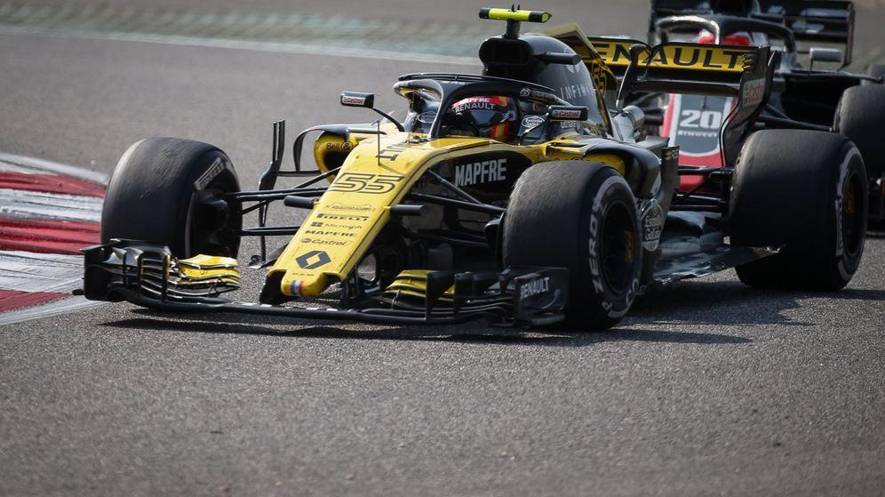 Foto: Carlos Sainz finalizó noveno en el Gran Premio de China (EFE)