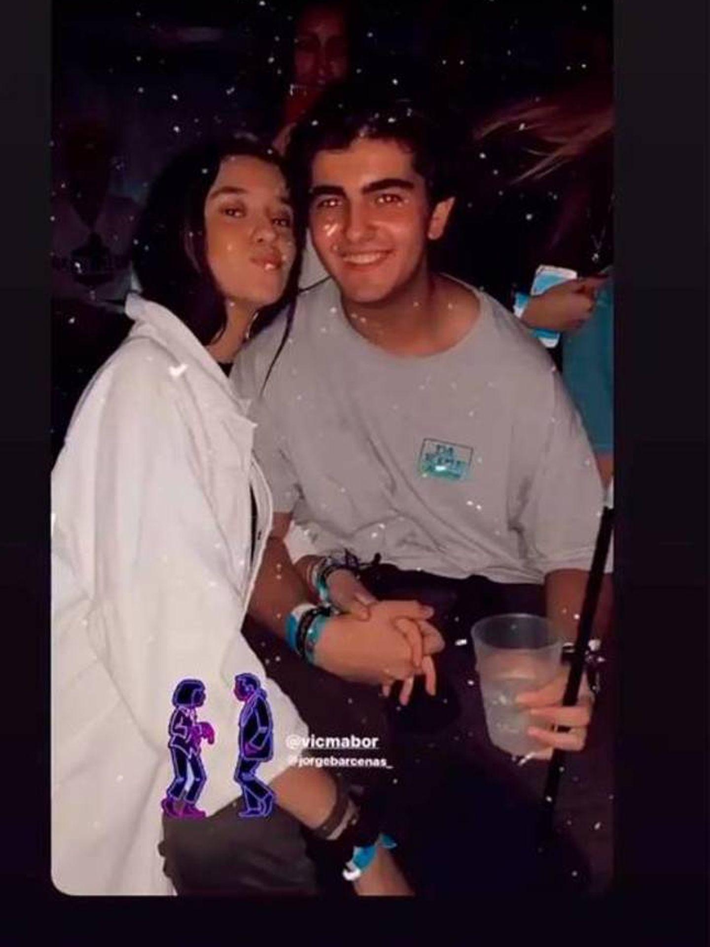 Victoria Federica y Jorge Bárcenas, en una imagen reciente de Instagram.