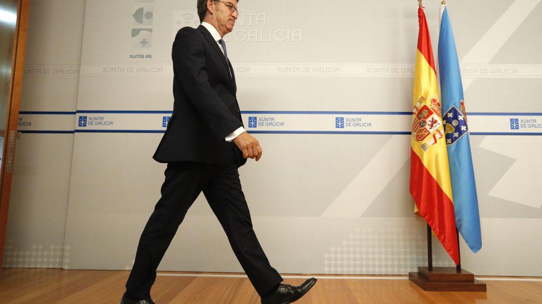 Alberto Núñez Feijoo (PP), presidente de la Xunta de Galicia. (EFE)