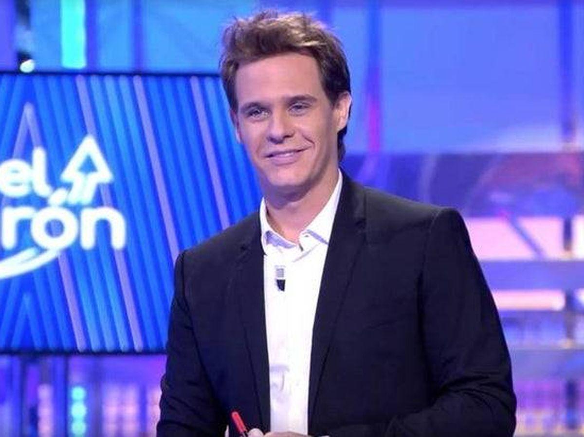 Foto: Christian Gálvez, en 'El tirón'. (Telecinco)