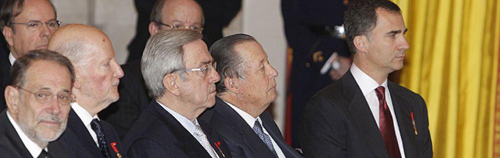 Foto: El primo 'enfermo' del Rey reaparece en la corte