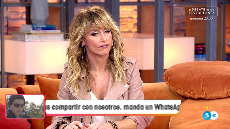 La presentadora Emma García. (Mediaset España)