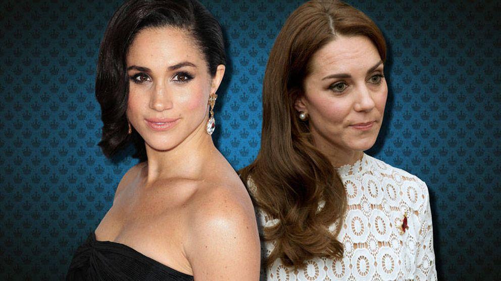 Las 3 claves por las que Kate Middleton debería temer a Meghan Markle