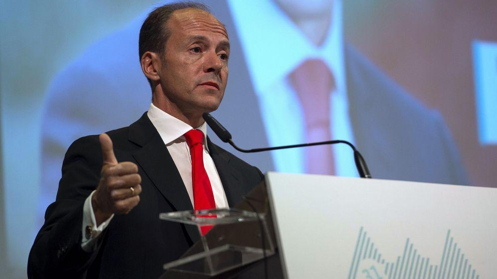 Foto: El consejero delegado de Santander España, Rami Aboukhair. (EFE)