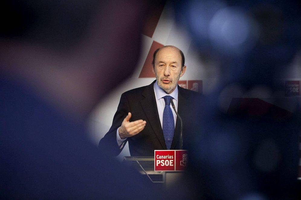 Foto: El exministro y exsecretario general del PSOE, Alfredo Pérez Rubalcaba. (EFE)