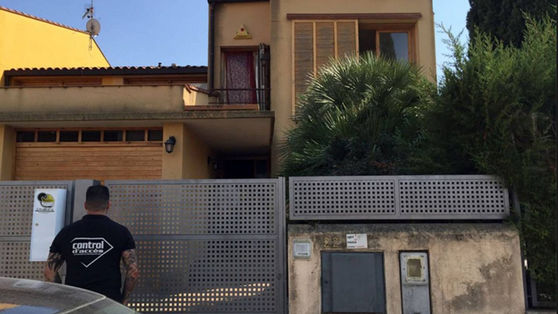 Intento de desalojo de una vivienda okupada en Cataluña.