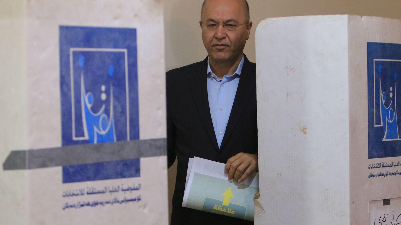 Barham Saleh. (Reuters)