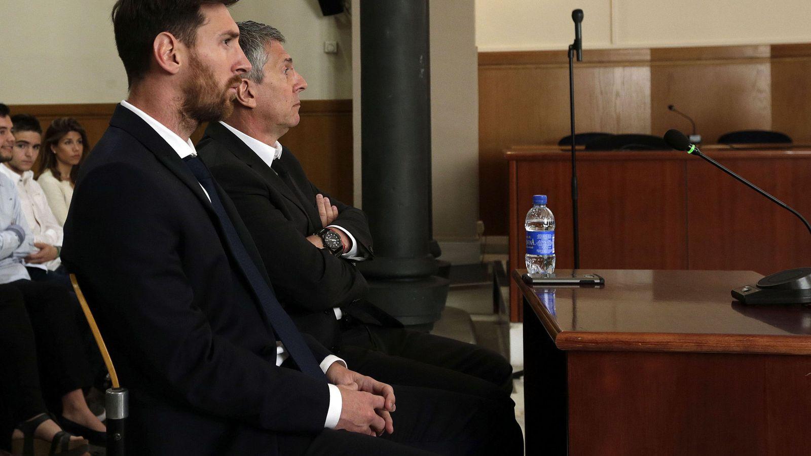 Foto: Leo Messi, condenado a 21 meses de prisión por fraude fiscal. (EFE)