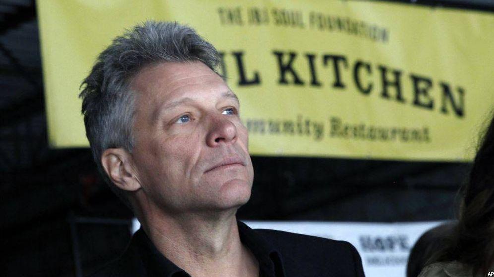Foto: Jon Bon Jovi en la inauguración de su segundo restaurante.