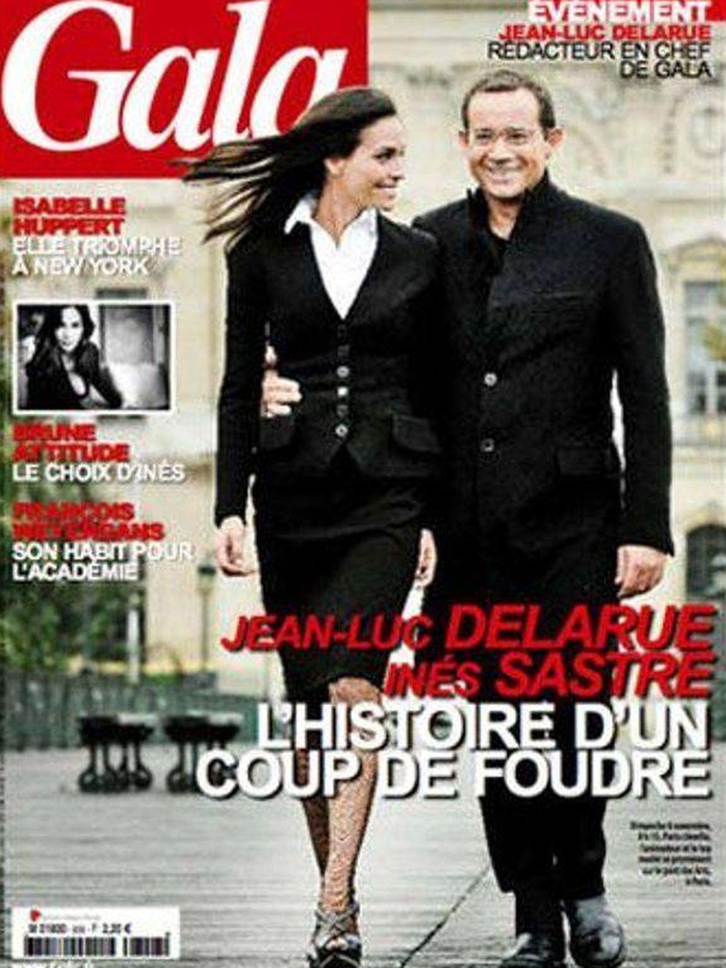 La portada de la revista 'Gala' donde hicieron pública su relación.