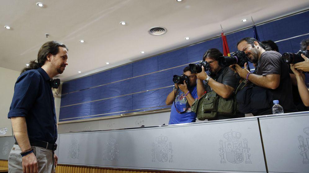 Foto: Pablo Iglesias, secretario general de Podemos (Efe).