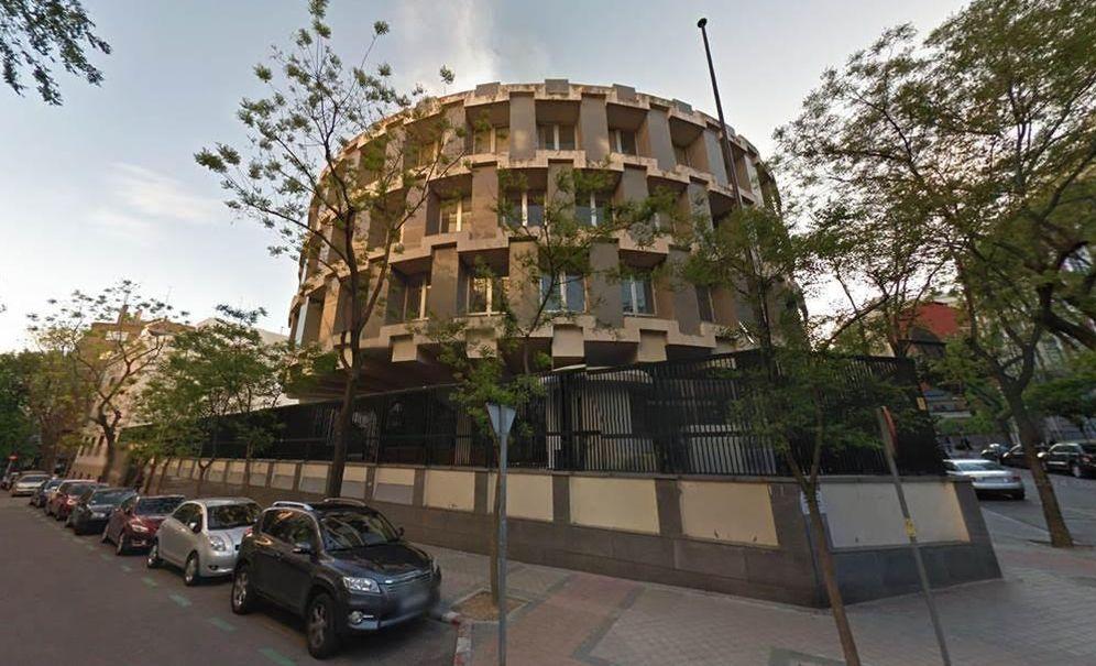 Foto: Edificio de la antigua embajada británica en la capital.