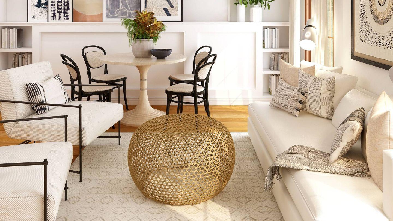 Cinco reglas de oro para decorar un salón. (Collov Home Design para Unsplash)