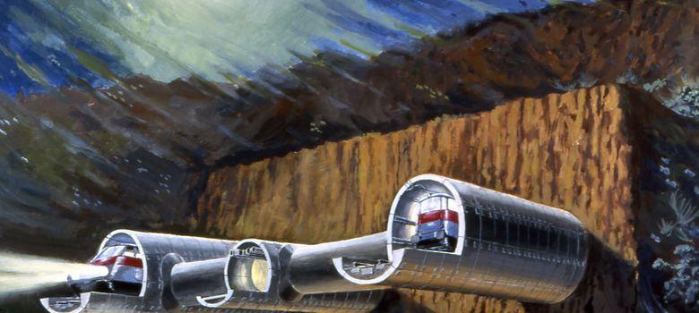 Foto: Proyecto de SECEGSA para el tren entre Gibraltar y Marruecos. Foto: secegsa.es