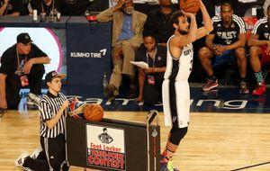 Belinelli es el campeón sorpresa del concurso de triples de la NBA