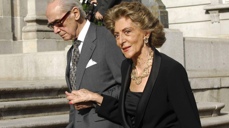 Pitita Ridruejo y Mike Stilianopoulos, en una imagen de archivo. (Getty)