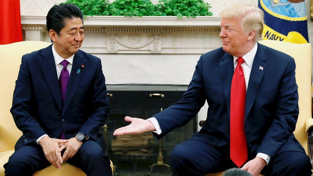 Foto: Shinzo Abe y Donald Trump. (Reuters)