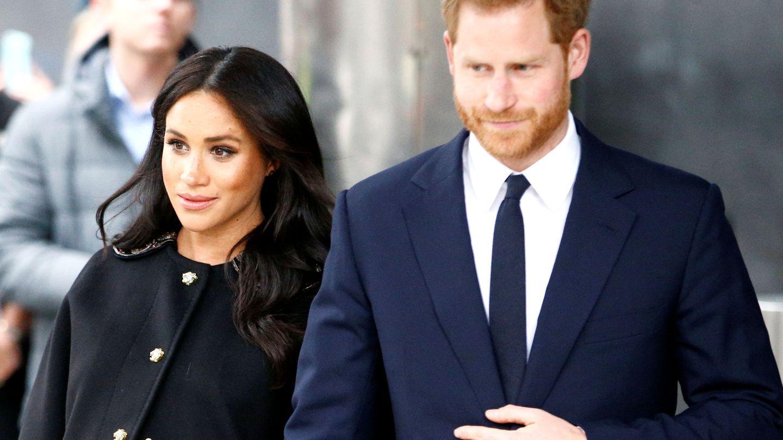 Meghan y Harry. (Reuters)