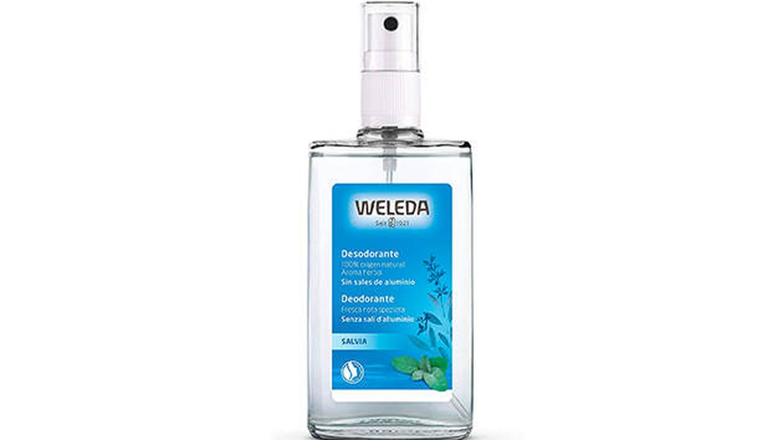 Desodorante de salvia en spray de Weleda