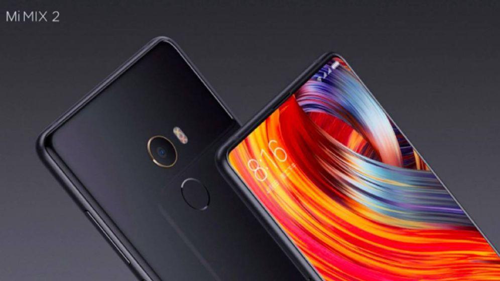 Foto: Vista del Xiaomi Mi Mix 2. (Xiaomi)