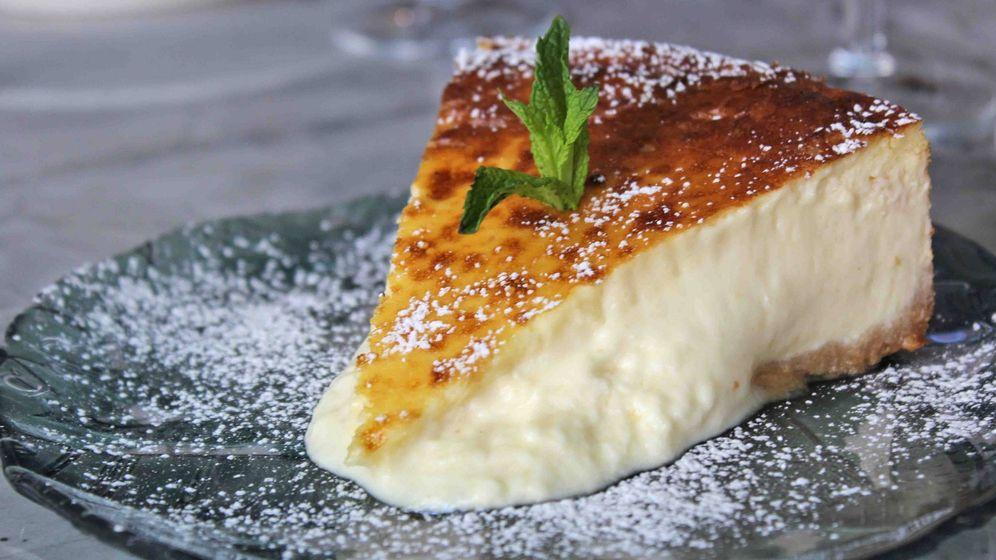 Foto: Tarta de queso del restaurante Gigi.