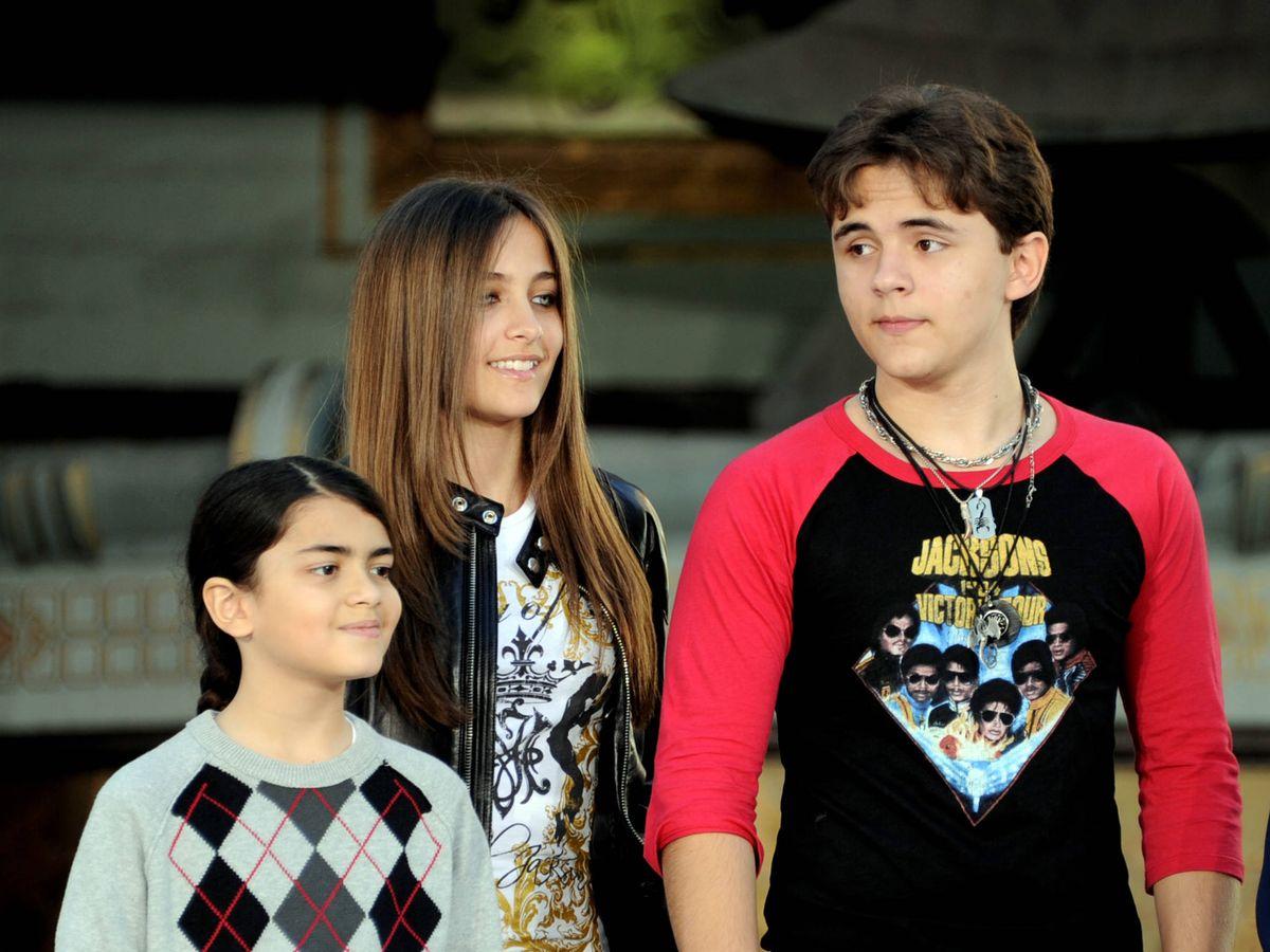 Foto:  Blanket (izquierda), junto a sus hermanos. (Getty)
