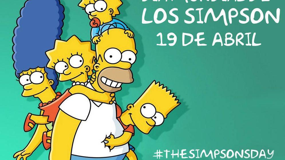 Foto: La familia Simpson busca su Día Mundial.
