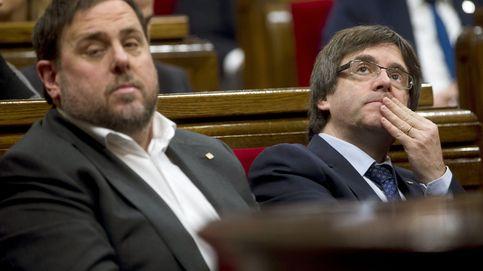 Puigdemont celebra la 'cumbre' del referéndum entre críticas de sus socios