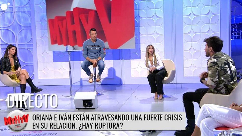 Plató de 'MYHYV'. (Mediaset España)