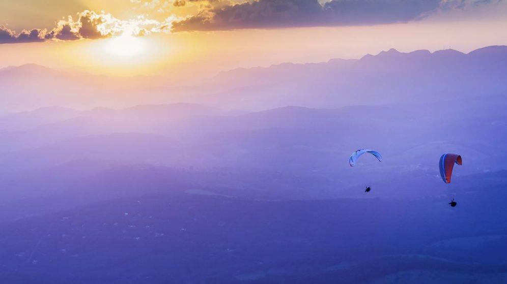 Resultado de imagen de volando en parapente
