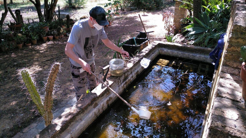Investigadores de la Estación Biológica de Doñana. (EDB-CSIC)